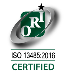 Orion AS13485 Certification Logo
