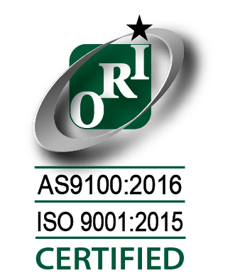Orion AS9100 Certification Logo