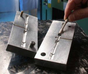 An example of injection molding