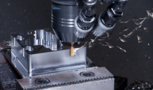 Polymer Components over Metallic Materials for Machined Parts