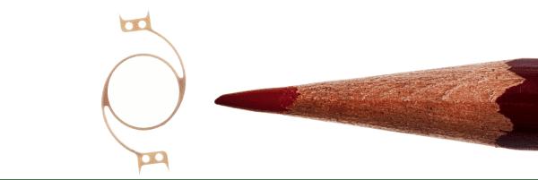 Color Pencil compared to precision machining